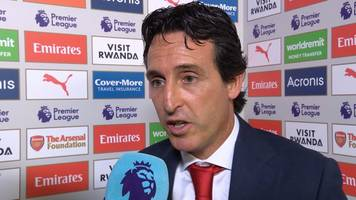 Arsenal 0-2 Man City: Unai Emery says Gunners improved after half-time