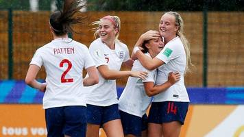 england women put six past mexico to reach u20 world cup quarters