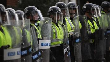 Increased Law Enforcement Presence In Charlottesville Over The Weekend
