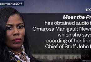 Omarosa Is In Hot Water After She Releases A Secret White House Recording