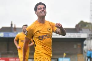 Ruairi Keating happy to justify Torquay United's faith in him with both goals in win against East Thurrock United