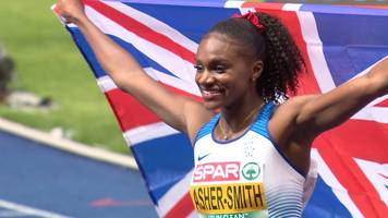 European Championships 2018: 'The world will take notice of Dina Asher-Smith now'