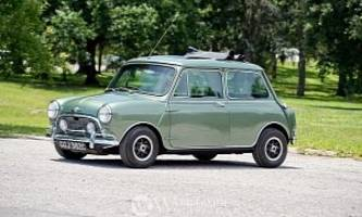mini cooper s deville previously owned by paul mccartney up for auction