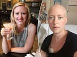 the woman given just two days to live after dismissing her cancer symptoms as divorce stress