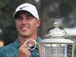 brooks koepka cannot believe success after uspga victory sees him join icons in history books
