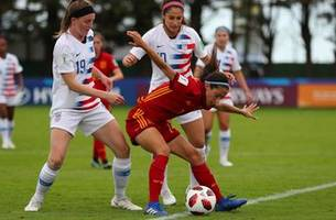 uswnt u-20s draw with spain, eliminated from u-20 world cup | 2018 fifa u-20 women's world cup™ highlights