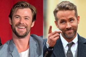 Chris Hemsworth, Ryan Reynolds Joke About Swapping Superhero Roles After Birthday 'Accident'