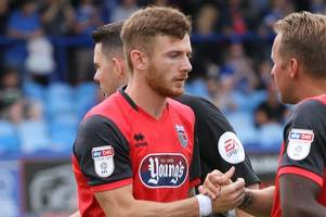 grimsby town striker jordan cook on the simple message that helped him score his first mariners goal