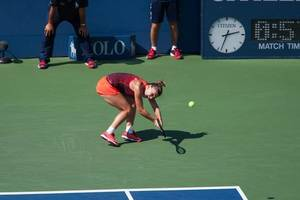 'Tired' Simona Halep thrilled to win Rogers Cup after hectic week