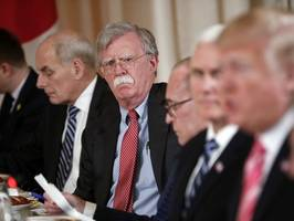White House National Security Adviser Bolton Met With Turkish Envoy To Discuss US Pastor