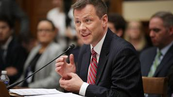 fbi agent peter strzok 'fired over anti-trump texts'