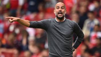 Man City Boss Pep Guardiola 'Delighted' With Raheem Sterling After Premier League Win Over Arsenal