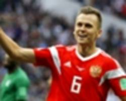 Russia World Cup hero Cheryshev returns to Valencia on loan