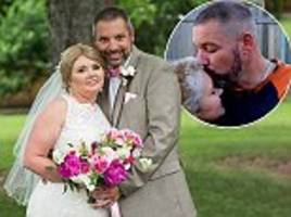 terminally ill mother with stage four breast cancer marries her partner in an emotional ceremony