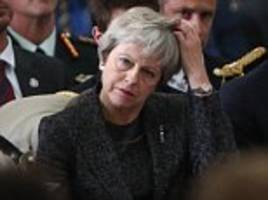 Tory Brexiteers ramp up pressure on PM with 'positive' rival blueprint