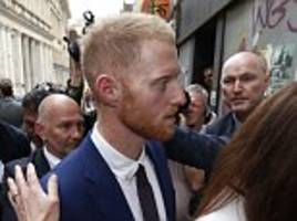 ben stokes doesn't come out of it guilty... but he doesn't come out of it well.