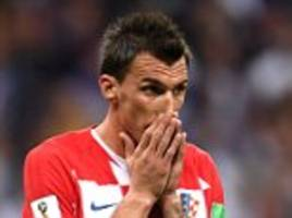 mandzukic retires from international football one month after croatia's world cup final defeat