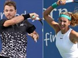 stan wawrinka and victoria azarenka handed wild cards for the us open