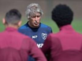 West Ham to train at London Stadium ahead of Bournemouth clash