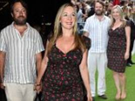 david mitchell and wife victoria coren put on a loved-up display at the festival premiere