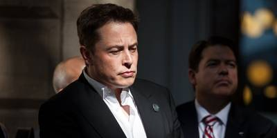 Elon Musk says he's hired Goldman Sachs to help take Tesla private — even though the bank's analyst is one of the most bearish on Wall Street (TSLA)