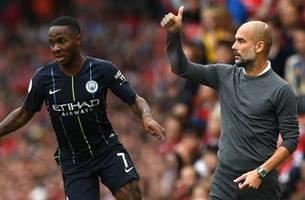 Manchester City manager Pep Guardiola on Raheem Sterling: 'We count on him'