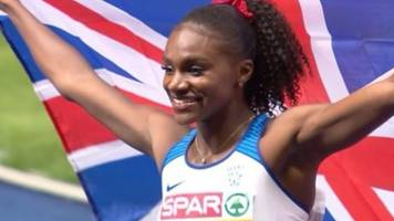 dina asher-smith: sprinter recalls childhood first race