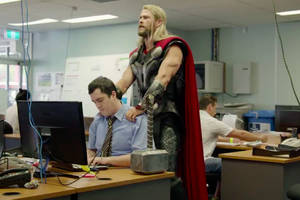 good news, thor's roommate survived avengers: infinity war