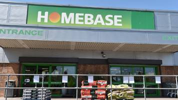 homebase to close 42 stores in uk and ireland