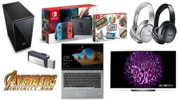 Geek Deals: Avengers Infinity War Releases Today, New Nintendo Labo with Switch Bundle