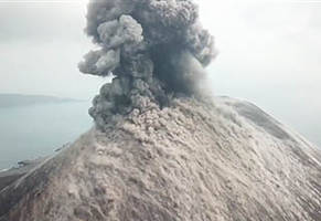Indonesian Volcano Erupts and 'Lava Bombs the Size of Trucks!' Fall from the Sky