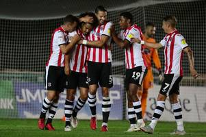Exeter City dump Ipswich Town out of Carabao Cup following dramatic penalty shootout win