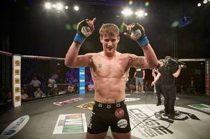 inverness fighter ross houston set to fight for the cage warriors welterweight title at cw98