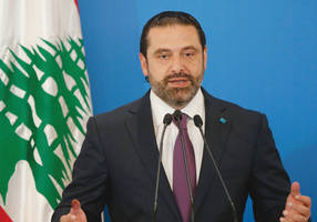Lebanon's Hariri says forming a government may be delayed