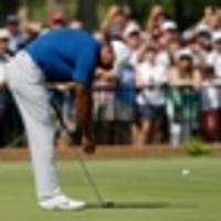 golf: tiger woods surprised to be a contender at last two majors