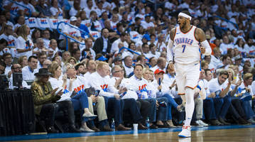 carmelo anthony thanks thunder organization, teammates and fans in goodbye letter to okc