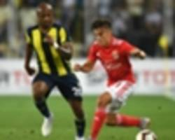 andre ayew disappointed after fenerbahce's champions league exit