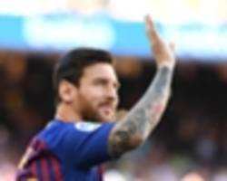 captain messi promises to do 'everything possible' to guide barcelona to the champions league