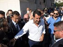 Italian Deputy Prime Minister Matteo Salvini blames Genoa bridge collapse on EU budget constraints