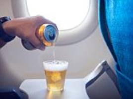 nearly two thirds of uk holidaymakers have had to share a plane with a drunk passenger