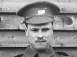 Bravery of British Tommy who went 'over the top' in WWI trenches