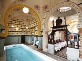 Opulent Turkish baths in Harrogate are returned to their original 1890s glory