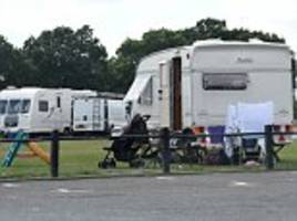 Travellers invade south London recreation ground with dozens of caravans sparking police response