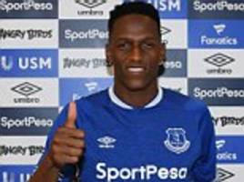 everton laugh off agent's manchester united jibe over transfer of yerry mina