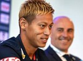 keisuke honda reveals he postponed retirement after lucrative offer from melbourne victory