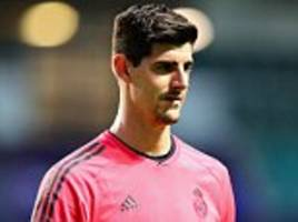 Thibaut Courtois to miss Super Cup final as Real Madrid will play Keylor Navas