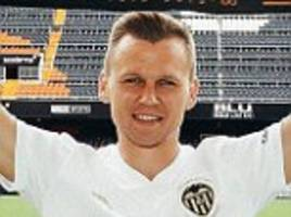 Valencia complete the loan signing of Russia's star forward Denis Cheryshev