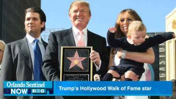 is trump's hollywood star getting removed?