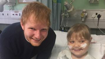 melody driscoll: ed sheeran pays tribute at funeral