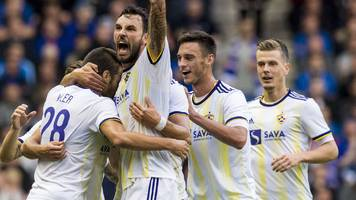maribor target 'perfect' display against rangers in europa league qualifier